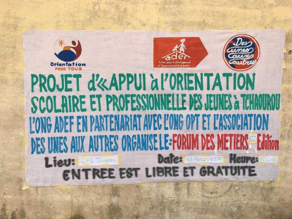 le premier forum des métiers à Tchaourou (1024x768)