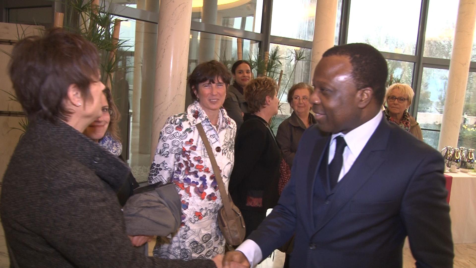 Rencontre vec l'ambassadeur du Bénin