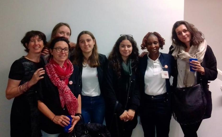 Participation au Festival des Solidarités à Nantes avec des membres de l'association