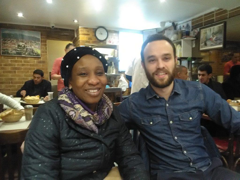 Retrouvailles avec Pierre Tabouret, volontaire à l'ADEF à Tchaourou en 2013