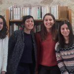 Lucie, Géraldine, Léa, Nina et Jeanne