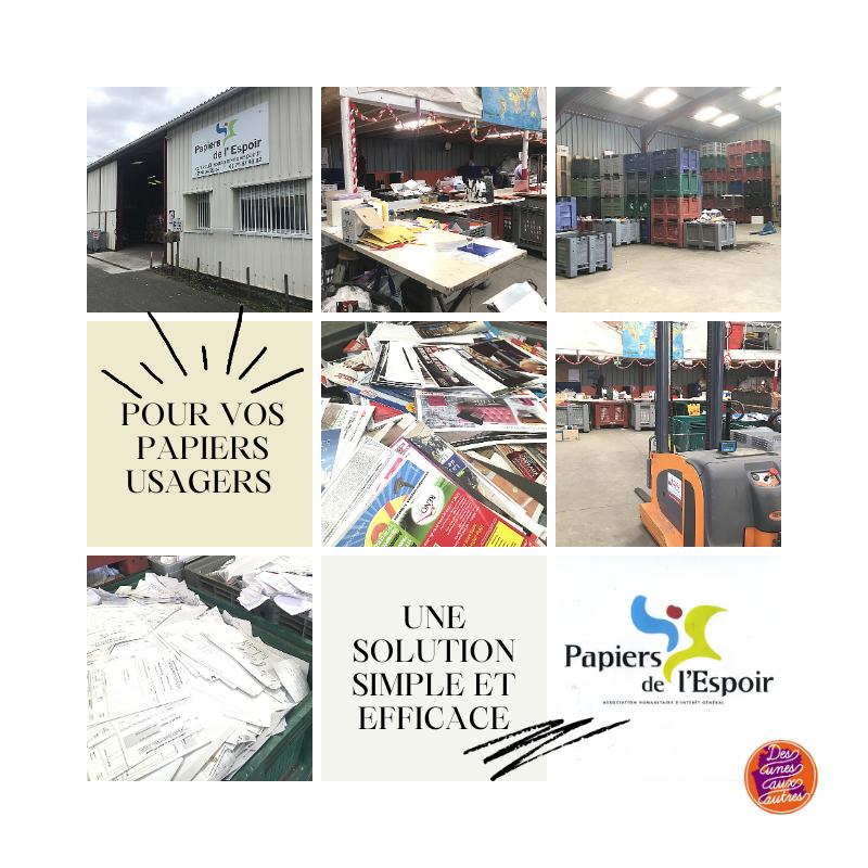 Le papier, du recyclage aux projets d'éducation